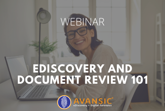 eDiscovery and Document Review 101